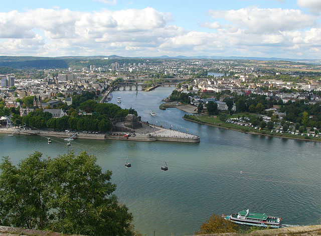 Koblenz am Deutschen Eck, Rheinland-Pfalz
