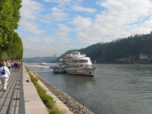 Rhein, Koblenz