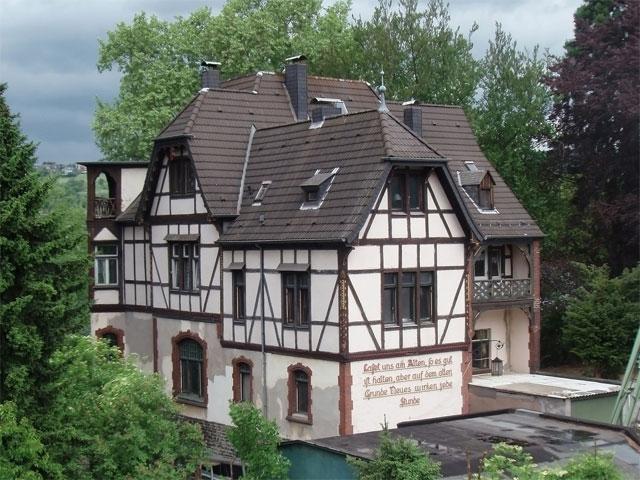 Typisches Haus in Rheinland-Pfalz