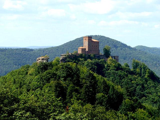 Burg Trifels, Pfälzerwald