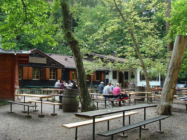Waldschenke im Pfälzerwald
