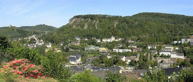 Wandern in der Eifel, Gerolstein