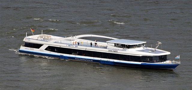 Schiffahrt am Rhein, Loreley