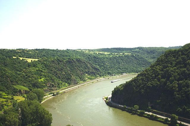 Loreleyfelsen am Rhein