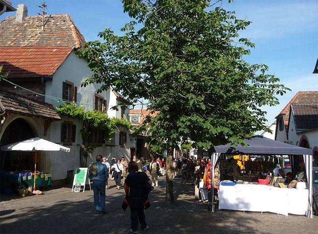 Markt in Rhodt an der Weinstraße