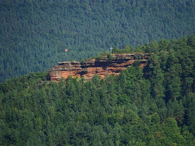 Nedingfelsen im Pfälzerwald